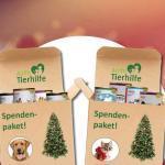 Weihnachts-Spendenaktion für Tierheime