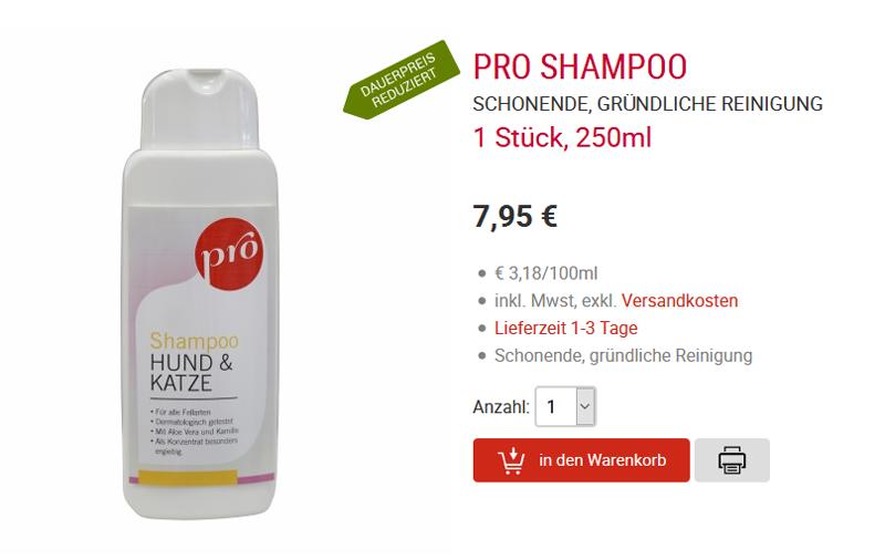 Anifit Pro Shampoo
